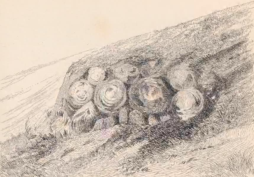 St. Helena: A Description of the Island - Volcanic Bombs (1875)