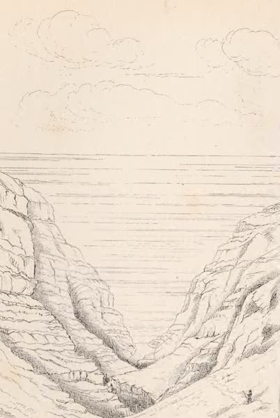 St. Helena: A Description of the Island - View Northward Down Lemon Valley (1875)