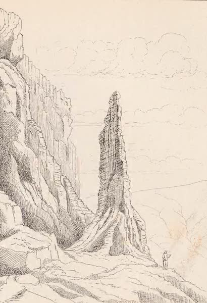 St. Helena: A Description of the Island - Detached Portion of Cliff - N.E. Side of Gregories (1875)