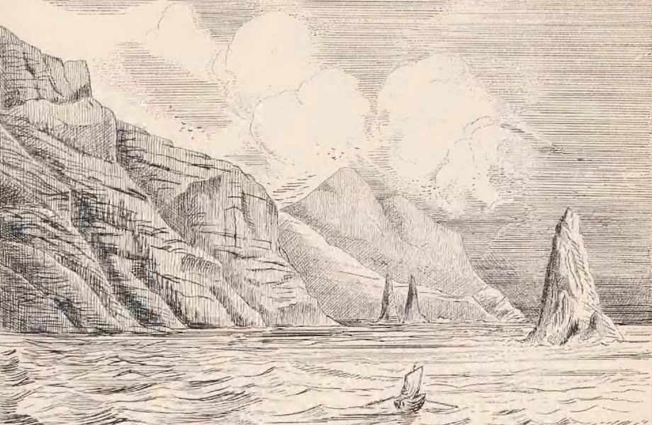 St. Helena: A Description of the Island - South West Portion of Great Dike, Speery (1875)