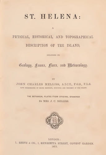 St. Helena: A Description of the Island (1875)