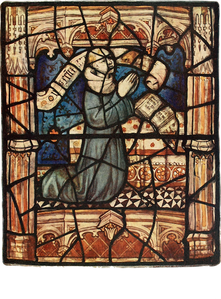 Stained Glass of the Middle Ages in England and France - Priest, from