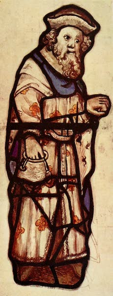 Stained Glass of the Middle Ages in England and France - Figure, from