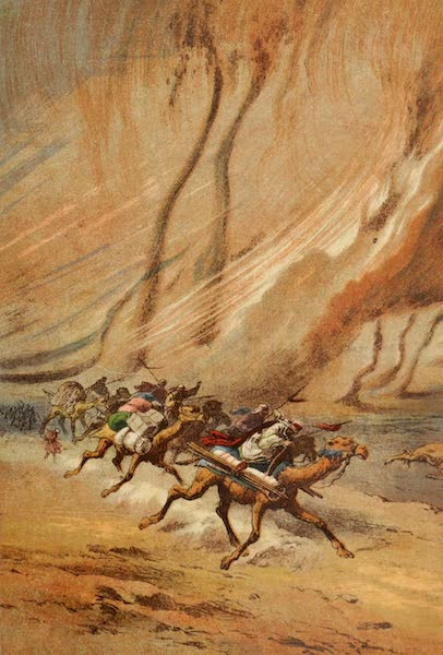 Stanley & Africa - A Whirlwind of Sand in the Sahara (1890)