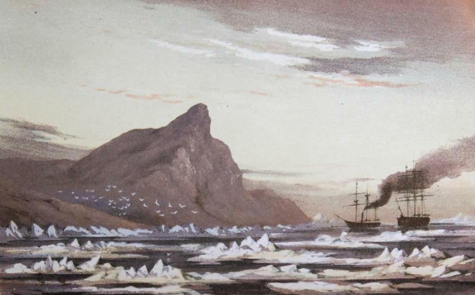 Stray Leaves from an Arctic Journal - Cape Hotham (1852)