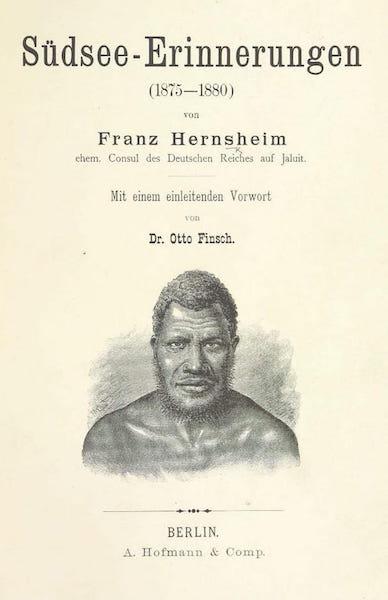 Sudsee-Erinnerungen - Title Page (1883)