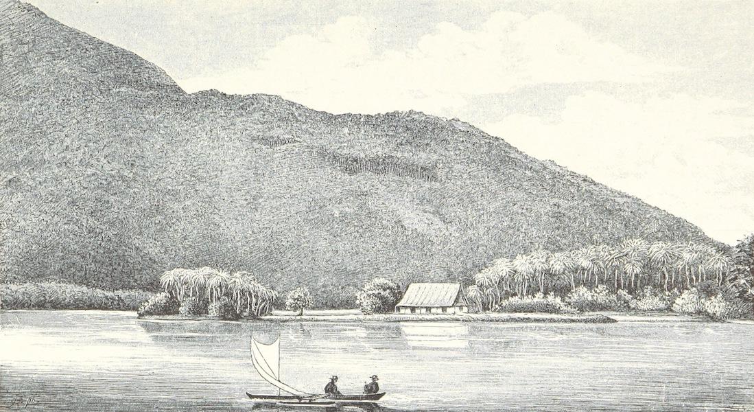 Sudsee-Erinnerungen - Lela-Hafen, Kusaie (1883)