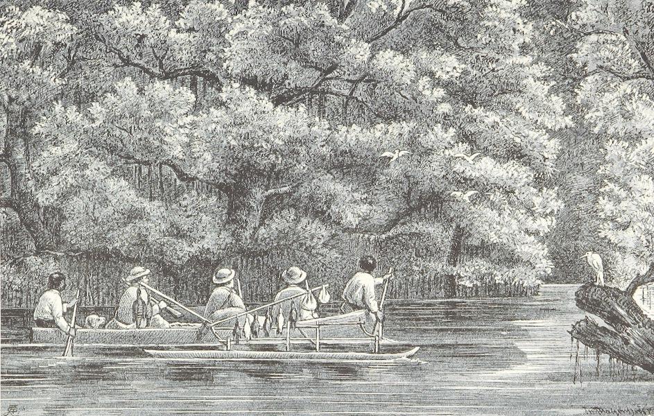 Sudsee-Erinnerungen - Canal, Kusaie (1883)