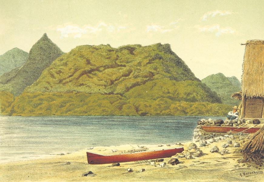 Sudsee-Erinnerungen - Coquille-Hafen, Strongs Isl (1883)