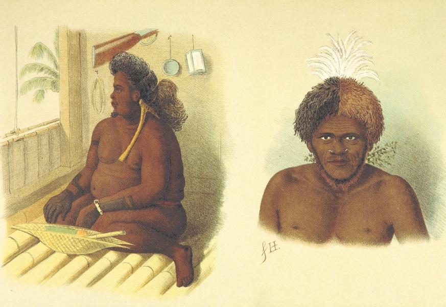 Sudsee-Erinnerungen - Aba Thule, Konig von Palao and Hauptling von Neu-Britannien (1883)
