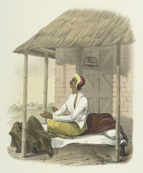 The Sundhya, or, the Daily Prayers of the Brahmins - The Brahmins first prayer to the Guroo [Guru] (1851)