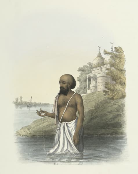 The Sundhya, or, the Daily Prayers of the Brahmins - Gungashtuk [Gangashtaka] (1851)