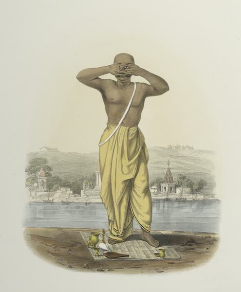The Sundhya, or, the Daily Prayers of the Brahmins - Soorya [Surya] (1851)