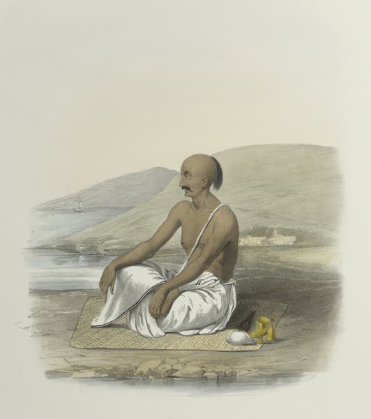The Sundhya, or, the Daily Prayers of the Brahmins - Gyan [Dhyana] (1851)