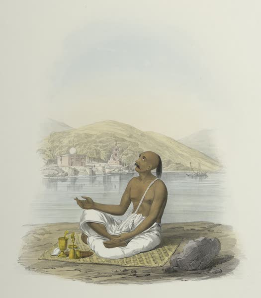 The Sundhya, or, the Daily Prayers of the Brahmins - Bhyragai [Vairagya] (1851)