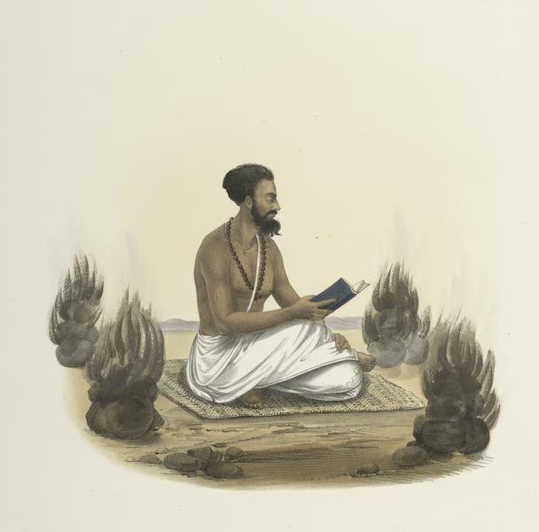 The Sundhya, or, the Daily Prayers of the Brahmins - Punch Agnee [Pañca-Agni] (1851)
