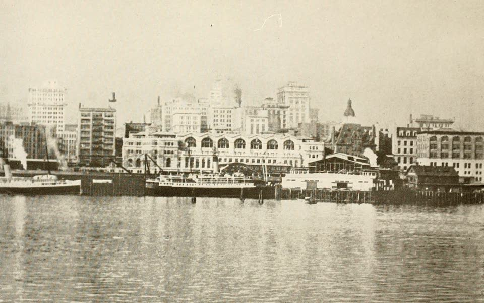 Sunset Canada, British Columbia and Beyond - Vancouver, from the Harbour (1918)