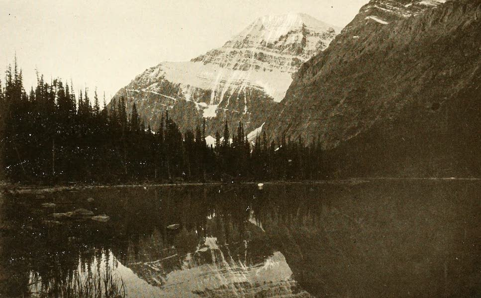 Sunset Canada, British Columbia and Beyond - Mount Edith Cavell (1918)