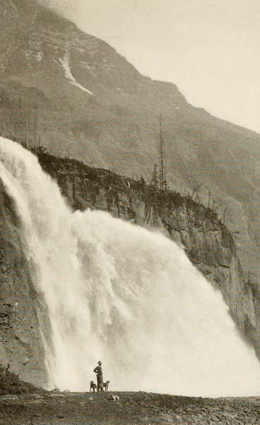 Sunset Canada, British Columbia and Beyond - Emperor Falls (1918)