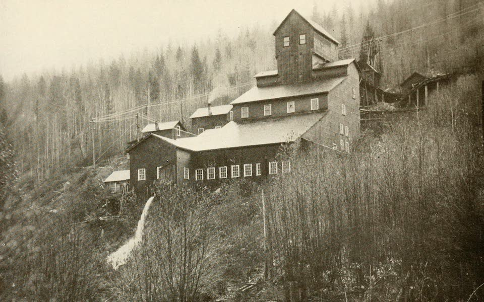 Sunset Canada, British Columbia and Beyond - The Outside of a Gold Mine (1918)