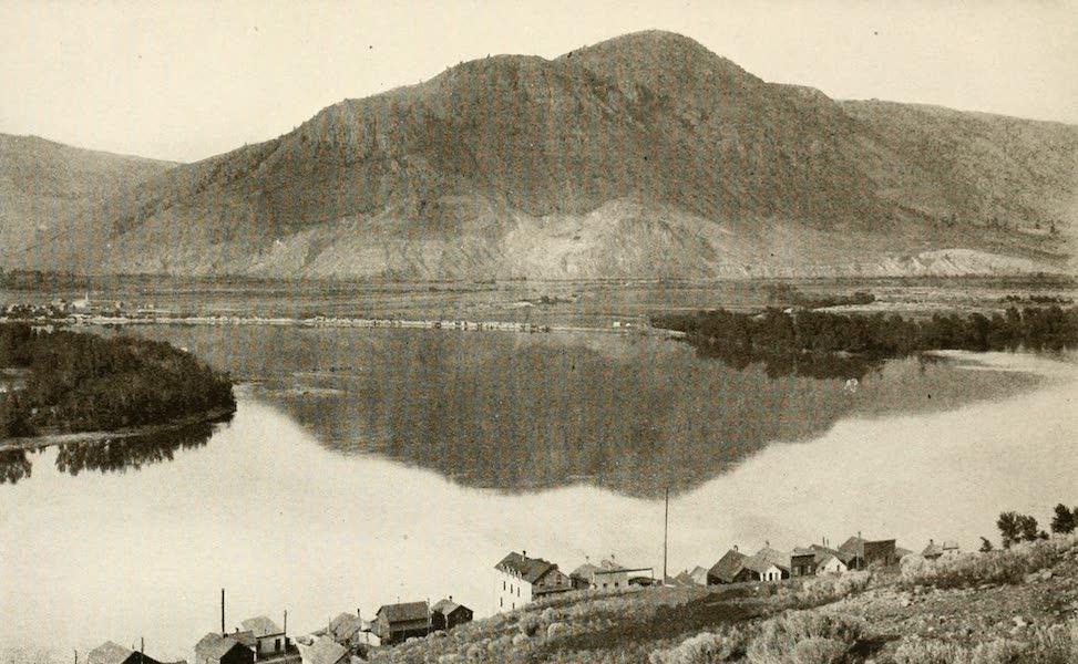 Sunset Canada, British Columbia and Beyond - Junction of Thompson Rivers, near Kamloops (1918)