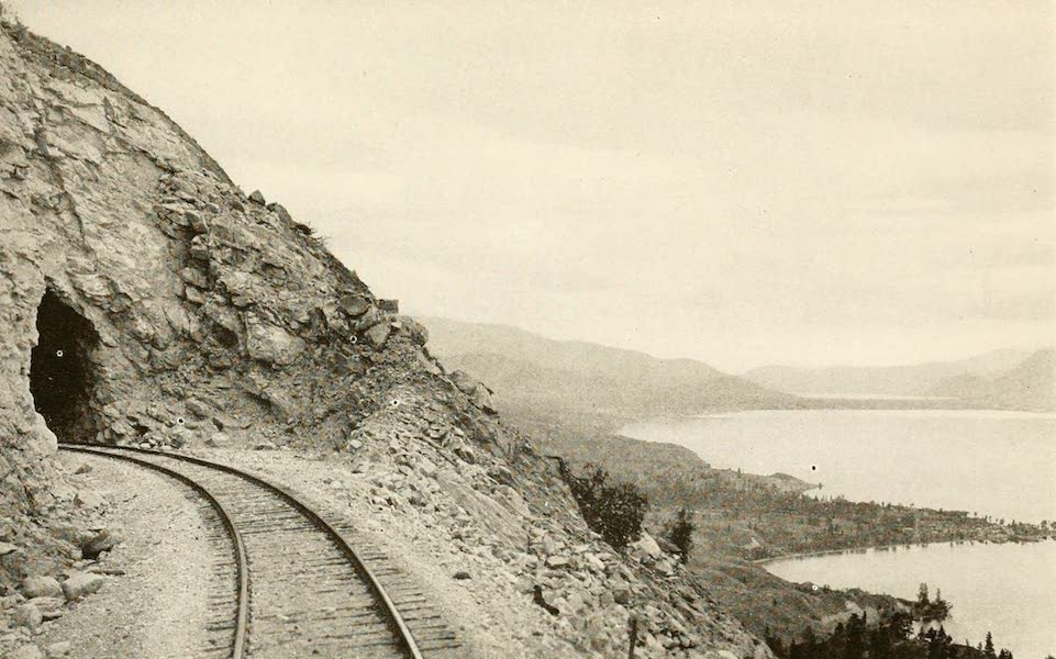 Sunset Canada, British Columbia and Beyond - Kettle Valley Railroad, overlooking Okanagan Lake (1918)