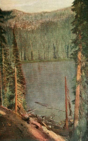 Sunset Canada, British Columbia and Beyond - Lake Christina (1918)