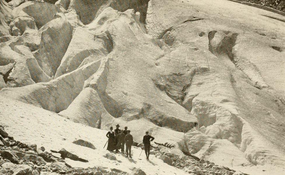 Sunset Canada, British Columbia and Beyond - Illecillewaet Glacier, near Glacier Station (1918)