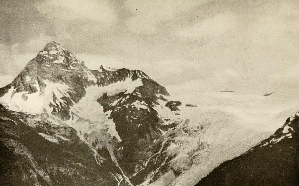Sunset Canada, British Columbia and Beyond - Mount Sir Donald (1918)