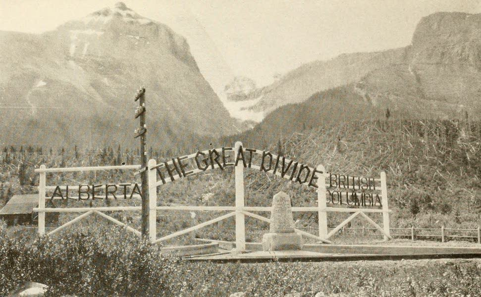 Sunset Canada, British Columbia and Beyond - The Great Divide (1918)