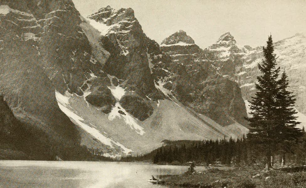 Sunset Canada, British Columbia and Beyond - Valley of the Ten Peaks and Moraine Lake (1918)