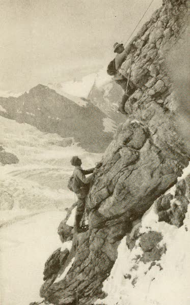 Sunset Canada, British Columbia and Beyond - Difficult Climbing on Mount Lefroy (1918)