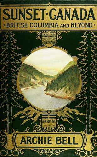 Chromolithography - Sunset Canada, British Columbia and Beyond
