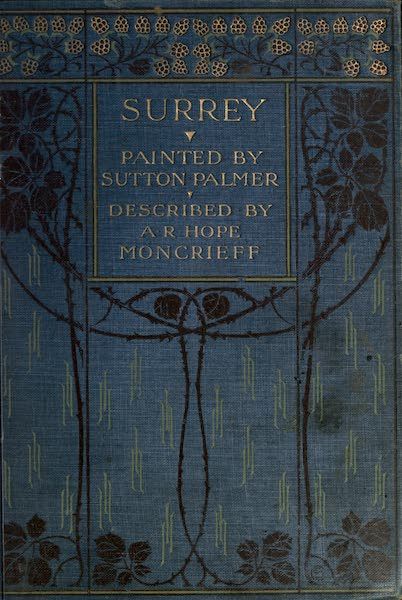 Surrey Painted and Described - Front Cover (1906)