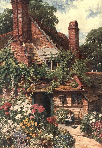 Surrey Painted and Described - A Cottage Home, Compton (1906)