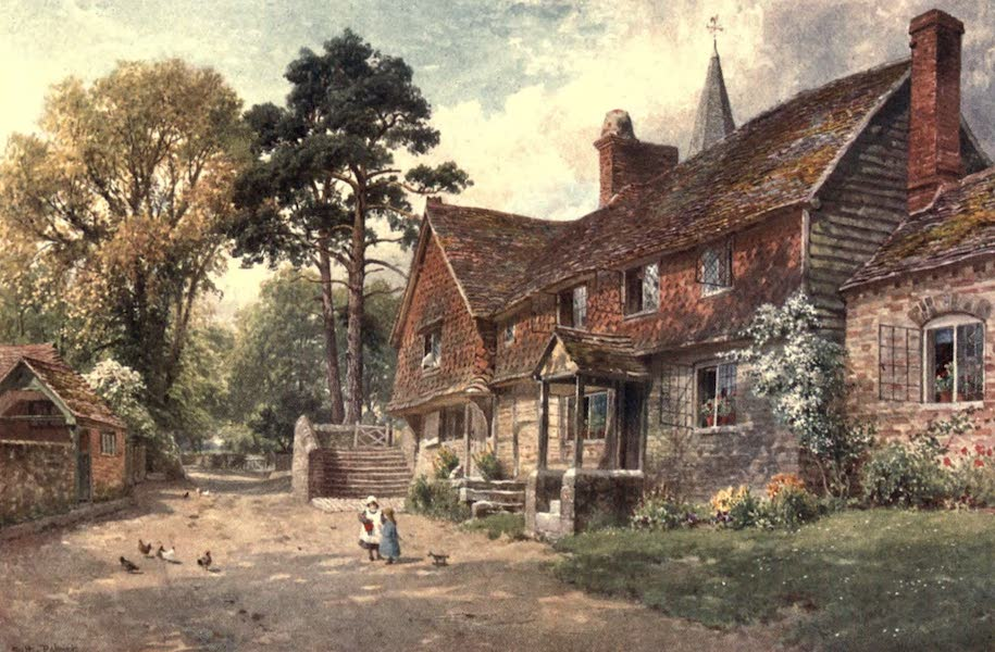 Surrey Painted and Described - Witley (1906)