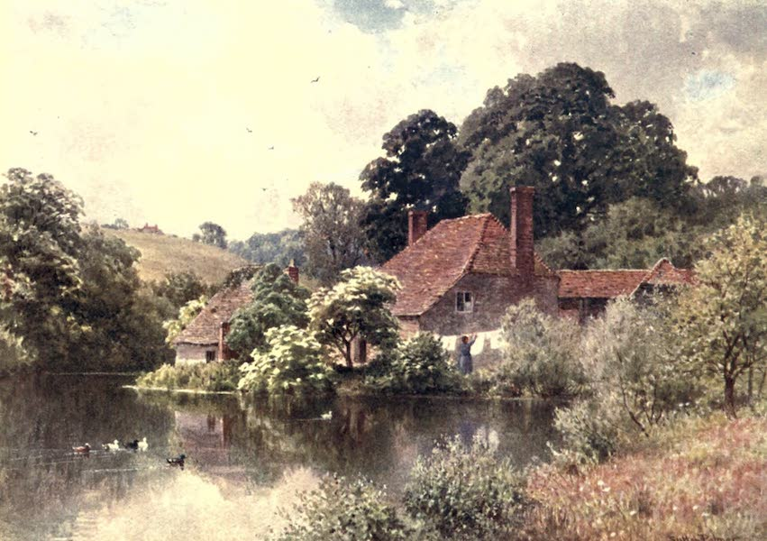 Surrey Painted and Described - Rorke's Farm, near Witley (1906)