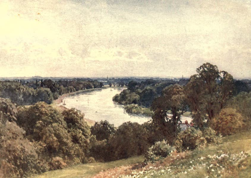 Surrey Painted and Described - From Richmond Hill (1906)