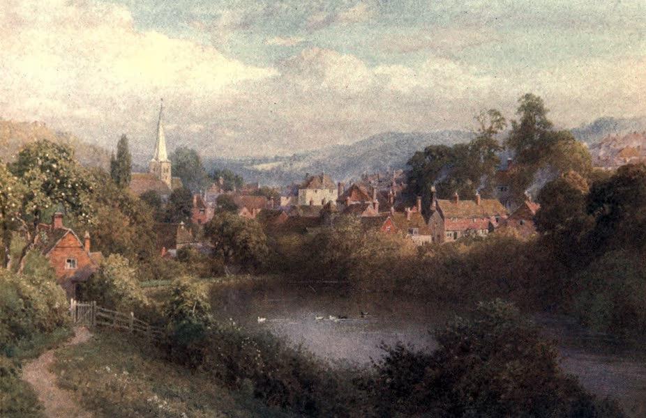 Surrey Painted and Described - Somerset Bridge, near Elstead (1906)