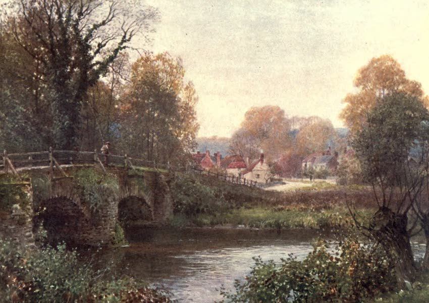 Surrey Painted and Described - Godalming - A Bit of the Old Town (1906)