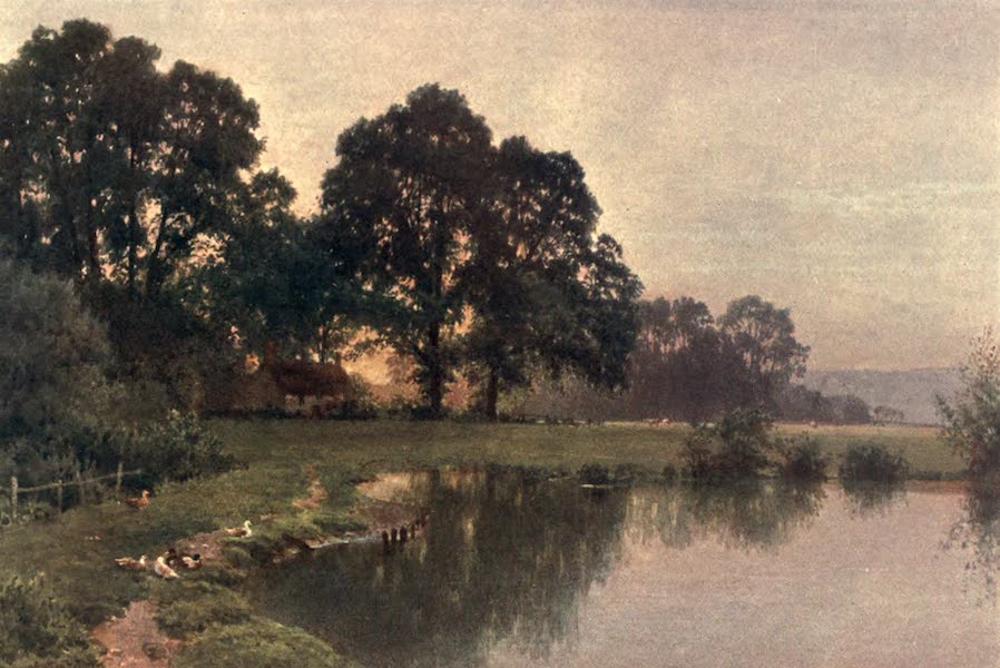 Surrey Painted and Described - Near Wonersh (1906)