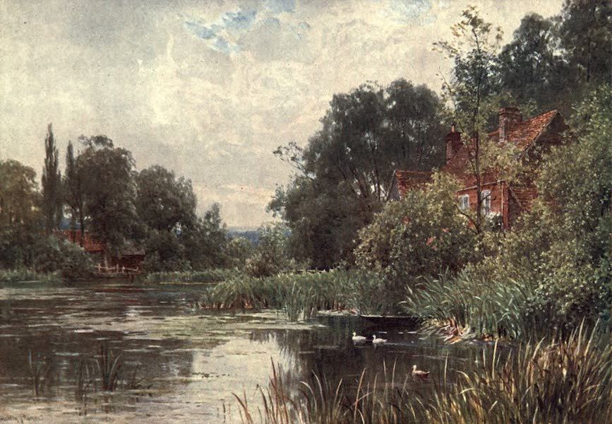 Surrey Painted and Described - Flanchford Mill (1906)