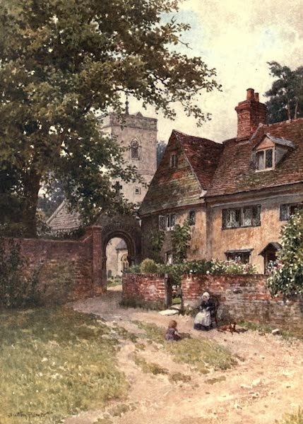 Surrey Painted and Described - Betchworth Church (1906)