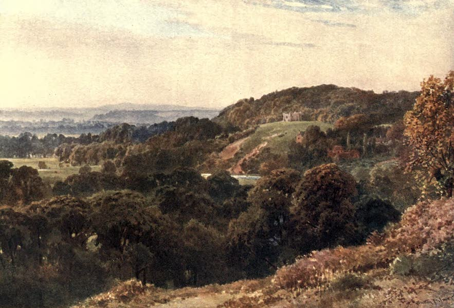 Surrey Painted and Described - St. Catherine's Chapel, near Guildford (1906)