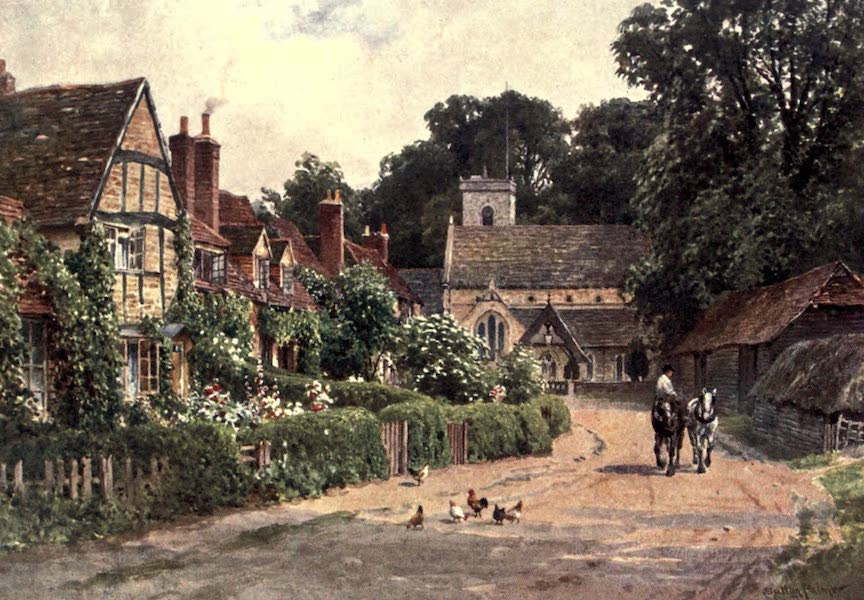 Surrey Painted and Described - The Village of Betchworth, near Dorking (1906)