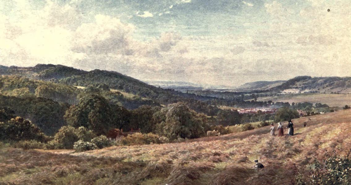 Surrey Painted and Described - The Vale of Dorking (1906)