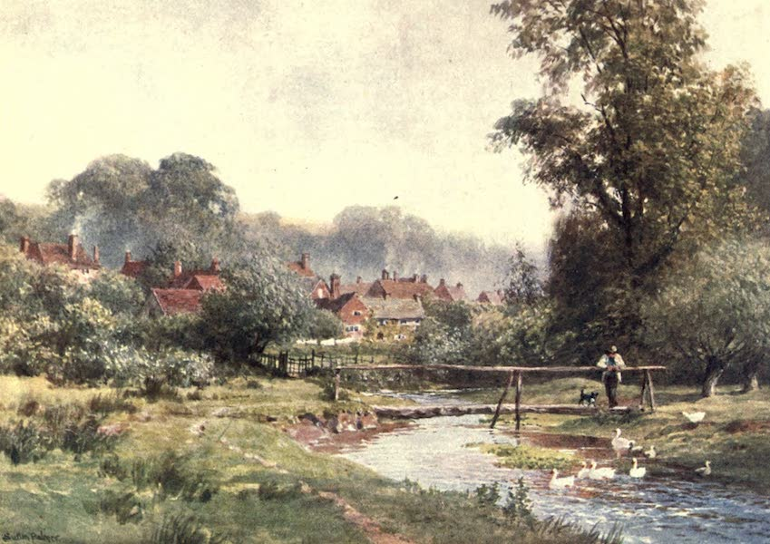 Surrey Painted and Described - Abinger Hammer (1906)