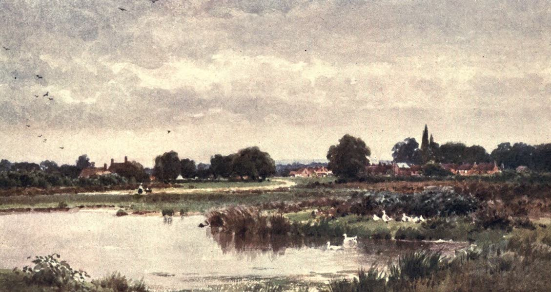 Surrey Painted and Described - Dunsfold, near Cranleigh (1906)