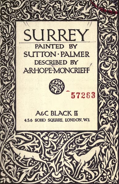 Surrey Painted and Described - Title Page (1922)