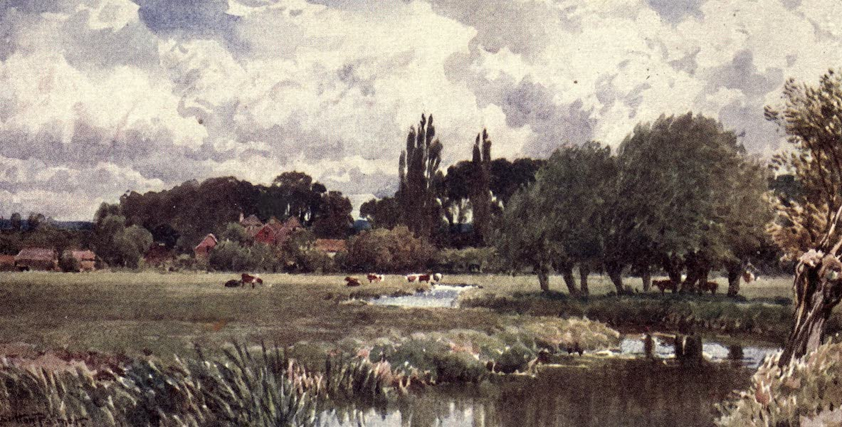 Surrey Painted and Described - Sussex Hills (1922)